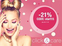 Jetzt schnell von unseren unglaublichen Rabatten profitieren!  www.clickandcare.ch