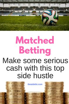 Are you looking for a top side hustle that will make you a lot of cash pretty quickly? What is Matched Betting and why isn't everyone doing it if it really is risk free money? A bit about my experience might encourage you to try it out! It is a 100% legitimate way to make some serious cash!