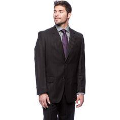 Men's Brushed Modern Fit 2-button Suit (36S)