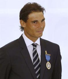 Rafael Nadal receives the Gold Medal of Merit in Work | Rafael Nadal Fans