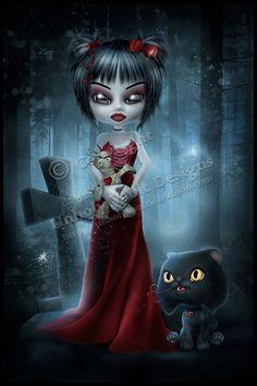 Spooky Valentine's by ~Unholy vault on deviantART