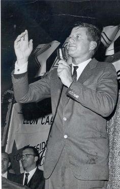 Campaigning on Long Island for Senator John F. Kennedy (1960)