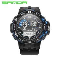2931ed472b5c Cheap watch strap white leather, Buy Quality wristwatch band directly from  China wristwatch women Suppliers  SANDA Fashion Men s Watch Led Digital  Watch ...