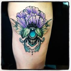 love insect tattoos.