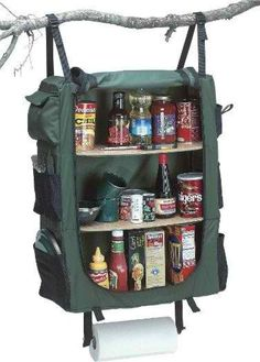 7 Camping Luxury Items (That You Don't Need): Hanging Cupboard or Pantry
