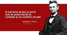 Abraham Lincoln, Smart Quotes, Funny Quotes, Motto, Memes, Life, Milan, Funny Phrases, Intelligent Quotes