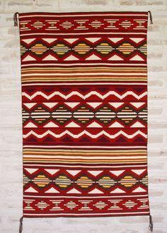 This is gorgeous! Navajo Weaving : Churro 1415