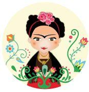 Kit imprimible Frida Kahlo - comprar online