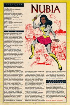 Nubia -created by robert kanigher