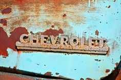Old rusty blue Chevy truck fine art photography. #art #Chevy #Chevrolet #vintage