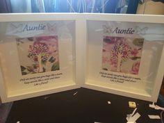 Auntie frames x