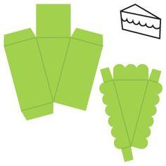 Resultado de imagen para molde para caja triangular en origami