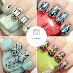 Best Nail Art Accounts on Instagram   The Nailasaurus   UK Nail Art Blog