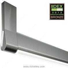 LED Goccia Designer Closet Rod 12V - Richelieu Hardware