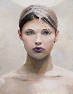 "Saatchi Art Artist Michael Foulkrod; Painting, ""the Girl"" #art"