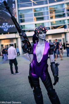 Widowmaker (Overwatch) #videogame #cosplay