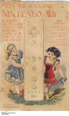 vintage advertisement of Nintendo