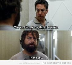 Best Hangover Quotes 28 Best Hangover movie quotes images | Comedy Movies, Film posters  Best Hangover Quotes