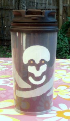 14 oz Travel Mug with Double Sided Insert by InspriationWorkshop, $16.00