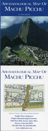 A foldout site plan of Machu Picchu showing the location of buildings and monuments, topographic relief, and other physical features. The reverse is a simplified diagram of the site with full color photographs of not-to-be-missed attractions. With suggested routes, this is a handy pocket guide to plan your visit to Machu Picchu.