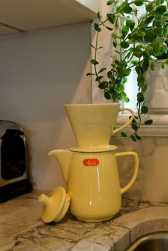 vintage melitta coffeemaker by skdejong, via Flickr