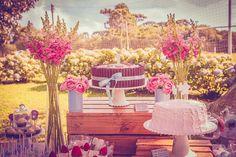 Festa Linda Inspiração – Tema: Jardim   Casamenteiras