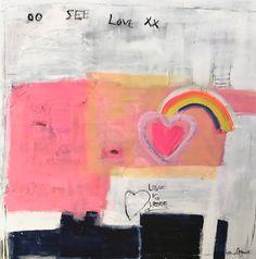 See Love 30x30 sold Kerri Rosenthal