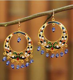Buy wide range of Indian earrings and designer jhumka for women ...