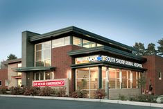 My work!! VCA South Shore Animal Hospital designed by Animal Arts Design