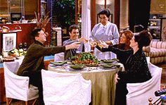 Max Mutchnick: When you're gay, your definition of family takes on a whole new meaning. It's not what people traditionally know as Thanksgiving growing up, where you're sitting down with your mom and your dad. You create new family, and I think this episode captured that really nicely. (Will & Grace: Fabulously Uncensored)