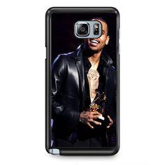 Chris Brown Winning Grammy TATUM-2577 Samsung Phonecase Cover Samsung Galaxy Note 2 Note 3 Note 4 Note 5 Note Edge