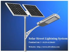 The #solar #street #lights work on the principle of the photovoltaic cell or   solar cell. The solar cell converts solar energy to the electrical energy which stored in the battery.