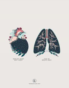 Make My Heart Skip a Beat / Take My Breath Away - Designs By Duvet Days