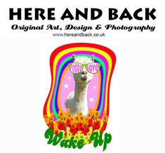 New design by Holly Wake Up, Original Art, Funny, Cute, Design, Humor, Kawaii, Funny Parenting