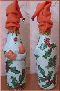 Кукуня и Кукуся: Бутылка со снеговиком. День третий... и последний
