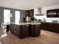 Deciding On Which Kitchen Layouts and Designs to Go With: Exquisite Kitchen Designs Layouts Pictures In Contemporary Kitchen Space With Laminated Wooden Floor Also White Pendant Lamp The Best Modern Home Interior 2014 Decorations ~ workdon.com Kitchen Design Inspiration