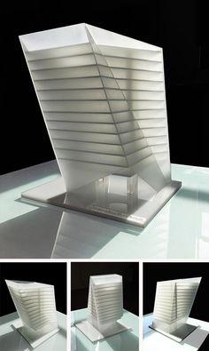 SineArch Acrylic Models Studio Anderson l