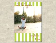 Custom Photo Christmas Card  Set of 25 by VivianElle on Etsy, $50.00