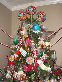 cute and sassy designs by bonnie candy christmas decorations and trees - Candy Christmas Ornaments