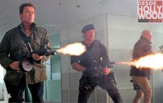 The Holy Trinity in The Expendables 2