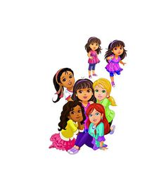 Dora and Friends Image, Dora Cutout,Nick Cartoon Image, Nick Cutout,Dora Template,Cartoon Cutout,Dora the Explorer Image,Kids TV by ICreateAndCollect on Etsy