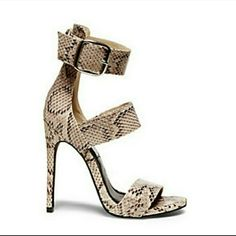 7d4184871b0 Who doesn t love a bold strappy shoe! Mysterii by Steve Madden!