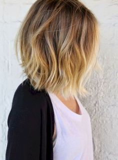 Balyage short hair trends 2017 45 72dpi