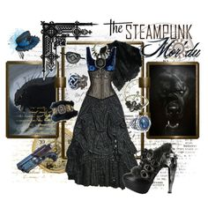 """Steampunk Mor'du"" by ghsdrummajor on Polyvore"