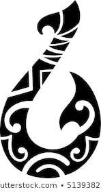 Maori style hook for tattoo Polynesian Tattoo Meanings, Polynesian Tattoo Sleeve, Polynesian Tattoos Women, Polynesian Tattoo Designs, Hook Tattoos, Cover Up Tattoos, Leg Tattoos, Body Art Tattoos, Tribal Tattoos