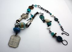 Fill Life JUNK Necklace by CraftyHope