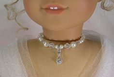 Reserved for Kathy WHITE PEARL NECKLACE by idreamofjeannemarie