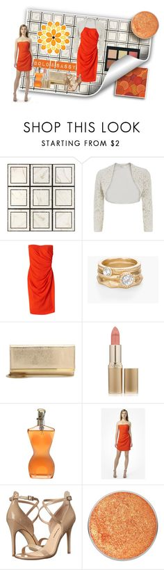 """""""Bold and Sassy"""" by veronica-h ❤ liked on Polyvore featuring WALL, Paule Ka, Rebecca Taylor, Chico's, Jimmy Choo, L'Oréal Paris, Jean-Paul Gaultier, Anastasia Beverly Hills, Chinese Laundry and Suva Beauty"""