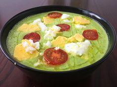 Gazpacho de calabacín – PALEOGOURMETE