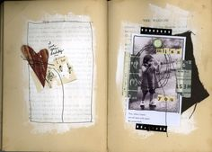 Scrapping as I go - Altered book challenge